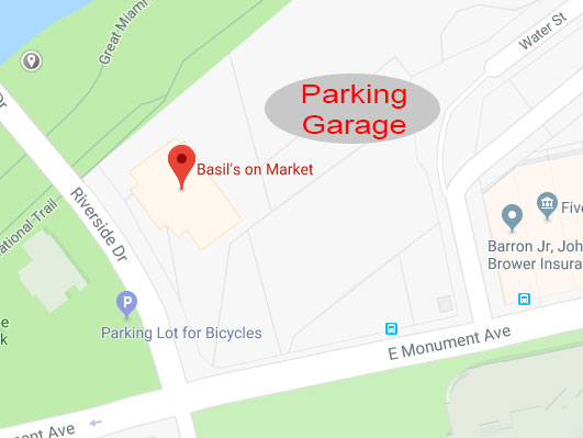 Basil's Dayton Parking
